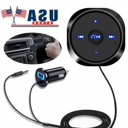 AUX Bluetooth Wireless Receiver Adapter Dongle for Car Stere