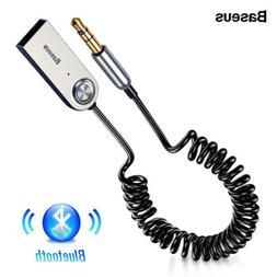 Baseus 3.5mm AUX Audio Wireless Bluetooth 5.0 Adapter for Ca