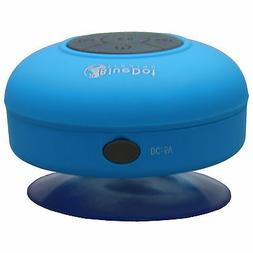 Blue Bluetooth Waterproof Suction Cup Speaker Car Shower for
