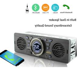 Bluetooth Car Radio SD MP3 Player AUX 1 Din In-Dash FM Stere