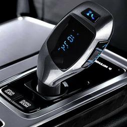 Bluetooth Wireless FM Transmitter For Car Radios Speaker Aud