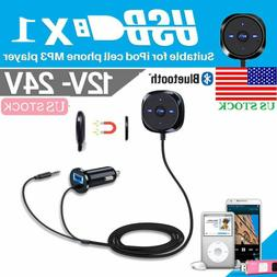 Bluetooth Wireless Receiver Adapter Dongle for Car AUX Stere