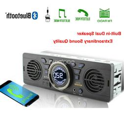 FM Bluetooth In-Dash 12V Speaker USB MP3 Player AUX Car Radi