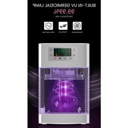 Ionizer Air Purifier UVC Disinfect Generator+Bluetooth Speak
