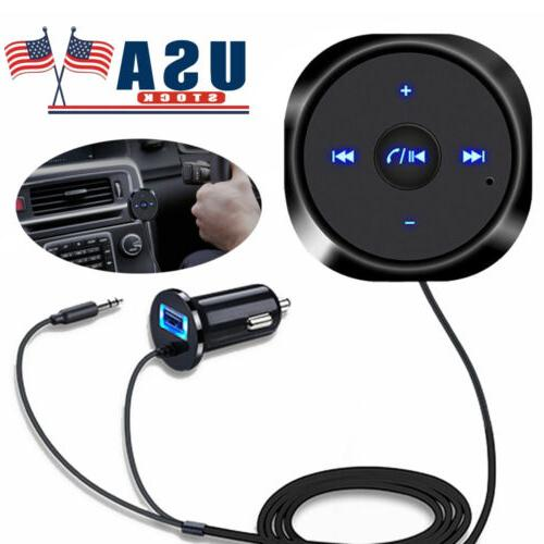 aux bluetooth wireless receiver adapter dongle