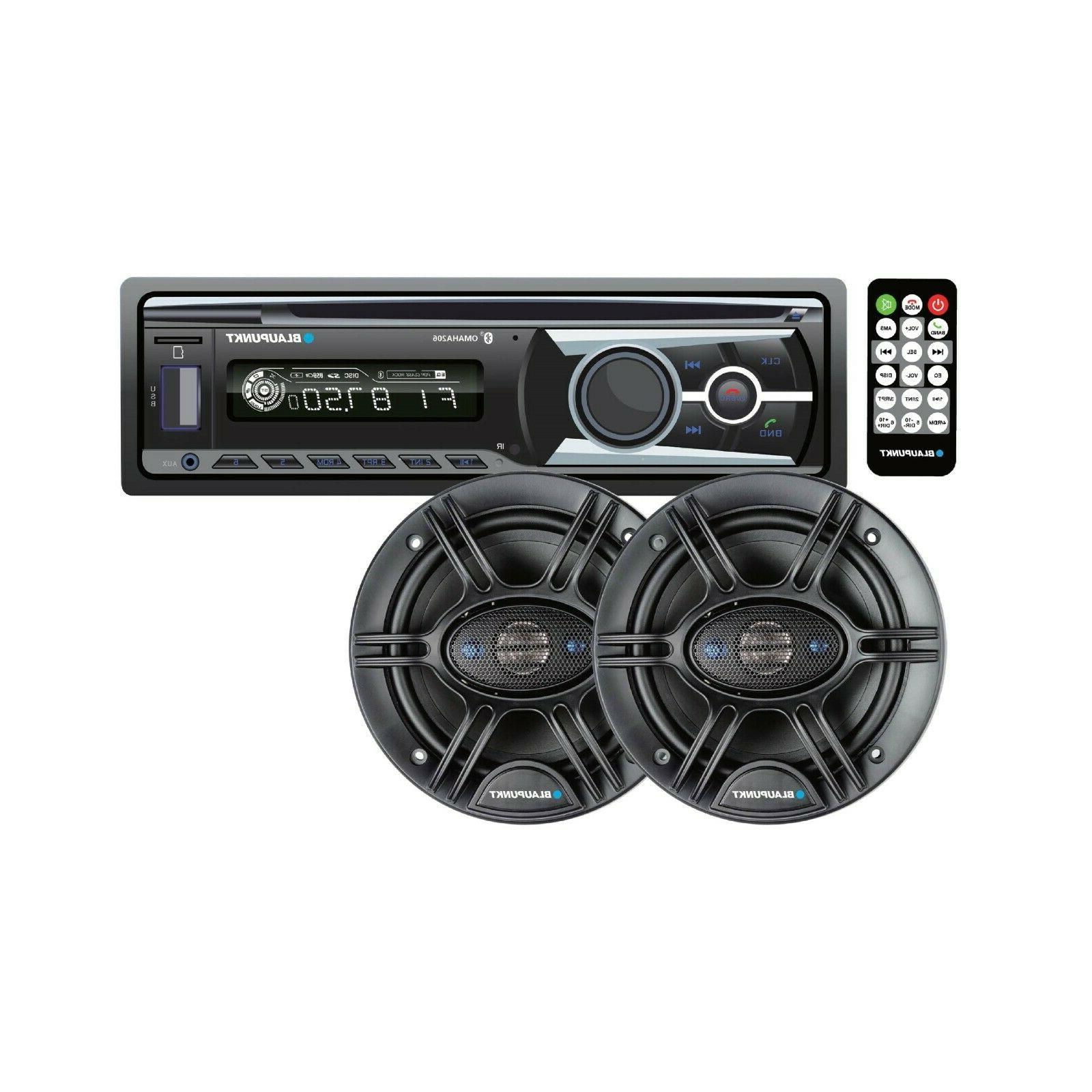 bluetooth car stereo bundle with 6 5