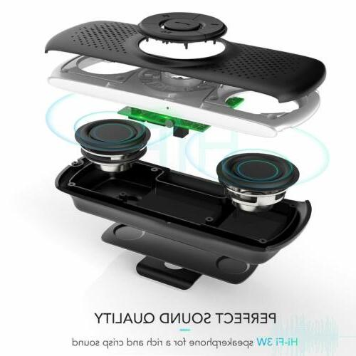 AGPTEK Bluetooth In Hands For Cell W/ Clip TF