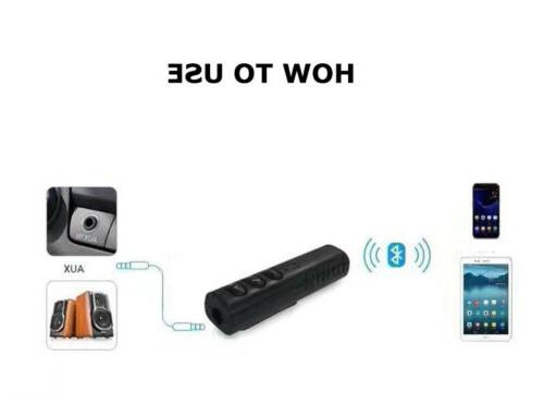 Bluetooth to Aux Dongle/Receiver for Car/Home Stereo Speaker Headset