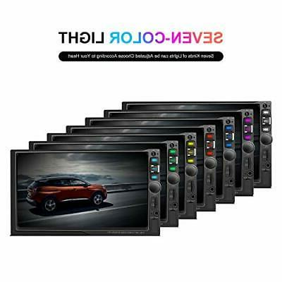 """Double car Stereo 7"""" Touchscreen Radio with Bluetooth Receiver Audi"""