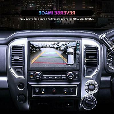 """Double Din car Stereo 7"""" inch car Radio with Audi"""