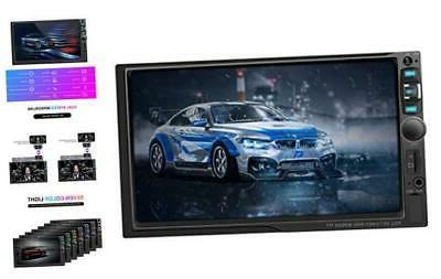 double din car stereo 7 inch touchscreen