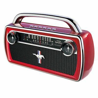 mustang stereo wireless stereo speaker with classic
