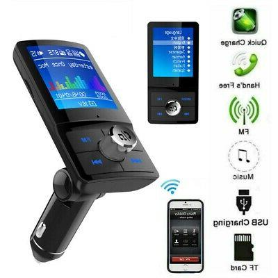 wireless bluetooth handsfree car kit mp3 player