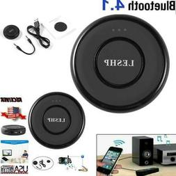 LESHP Round Wireless Bluetooth Car Stereo Streaming Receiver