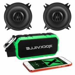 """Pair MTX THUNDER40 4"""" 140w 2-Way Coaxial Car Stereo Speakers"""