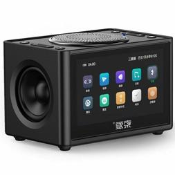 Video Speaker Mini Subwoofer Home HD Radio Portable Car Comp