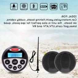 5.25-Inch 160W 2-Way Waterproof Marine Speakers Waterproof B
