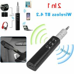 wireless 3 5mm car bluetooth mini receptor