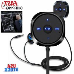 Car Wireless Bluetooth Receiver Adapter AUX Stereo Audio Spe