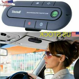 Wireless Bluetooth Hands Free Auto Car Speakerphone Speaker