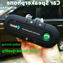 Wireless Bluetooth Handsfree Car Auto Kit Speakerphone Speak