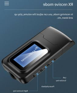 Wireless Bluetooth Transmitter&Receiver AUX Adapter for Spea