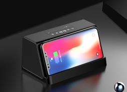 Wireless fast charging mini stereo car subwoofer wireless bl