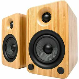 Kanto YU4 Powered Speakers with Bluetooth and Phono Preamp -